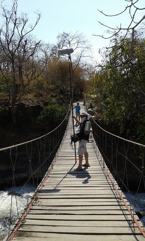 Alex Filming The River in Laos