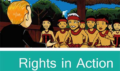 Rights in action comic