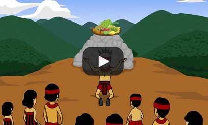 Indiginous people Digital Mixes animation