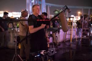 Digital Mixes on set